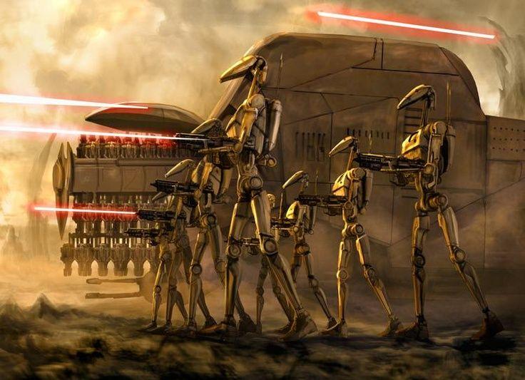 Trade Federation Battle Droids Star Wars Images Star Wars Pictures Star Wars Droids