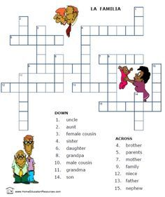 free 14 page worksheet packet on spanish family vocabulary easy to download in the. Black Bedroom Furniture Sets. Home Design Ideas
