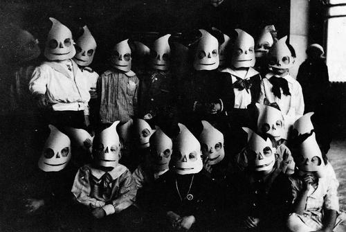 Halloween Kids c. 1920s-1950s