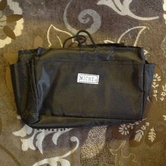 Miche classic purse organizer Black purse organizer with three large