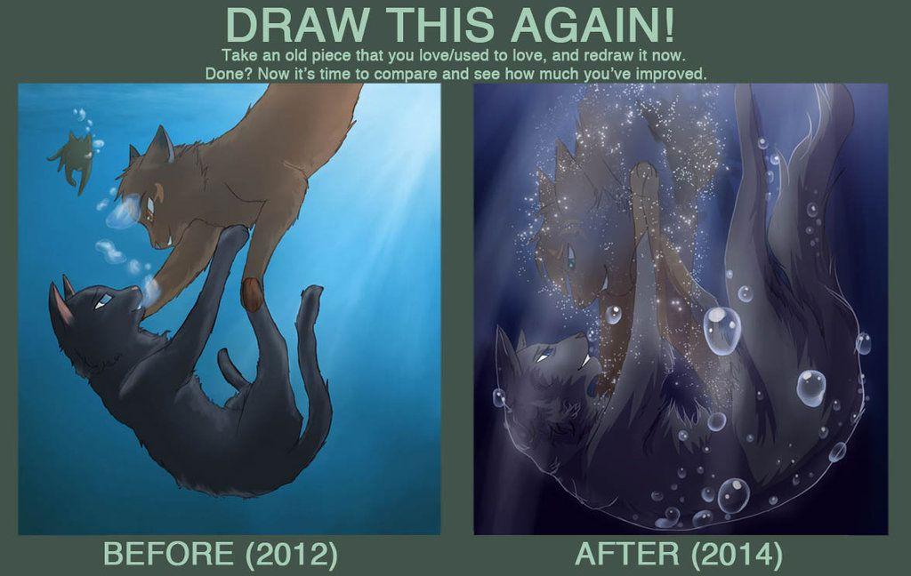 Draw This Again By Riverspirit456 Deviantart Com On Deviantart