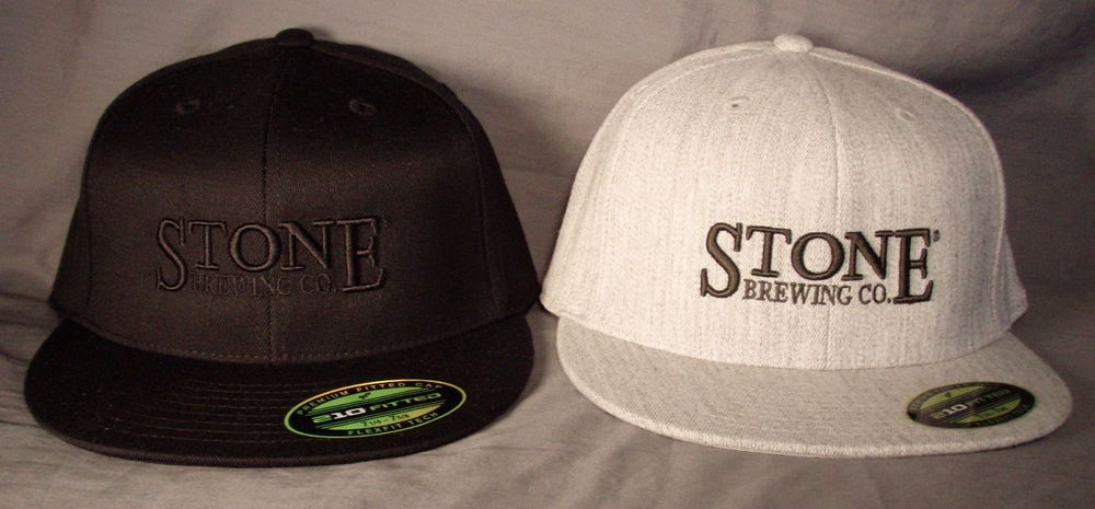 Stone Brewing Company Pro Fit Hat Black Grey Cap Craft Brew Beer Fitted  Baseball  StoneBrewingCompany  BaseballCap 6661cae8b27