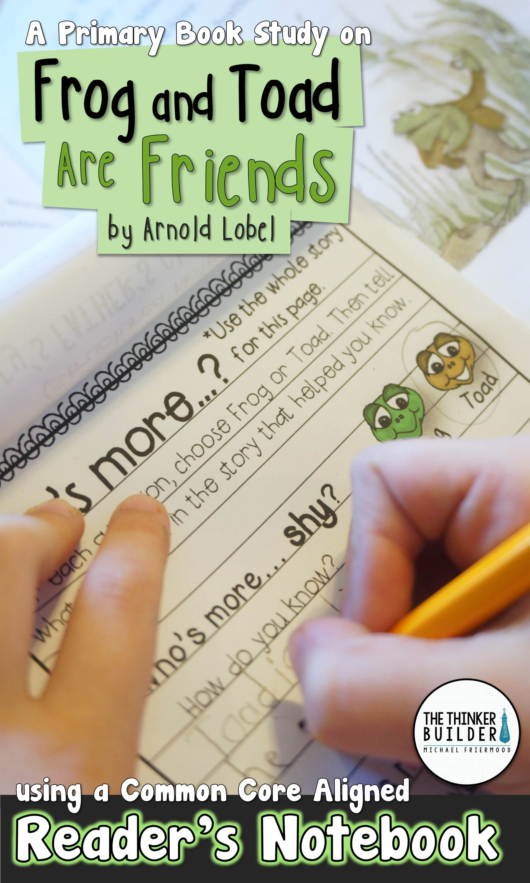 Frog And Toad Are Friends A Book Study