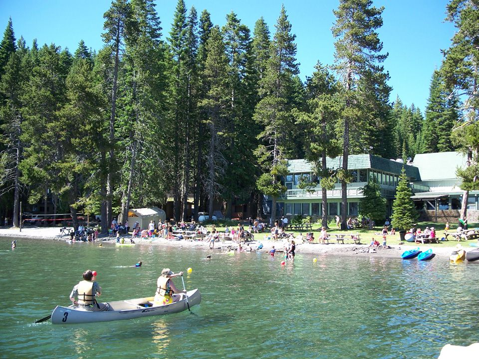 Diamond lake campground is located on forest road 4795 for Fish lake camping