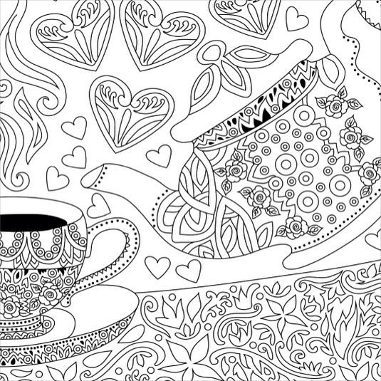 The Coloring Book Club On Instagram Will You Accept The Challenge Of Filling This With Colors Download Thi Coloring Books Free Coloring Pages Coloring Pages