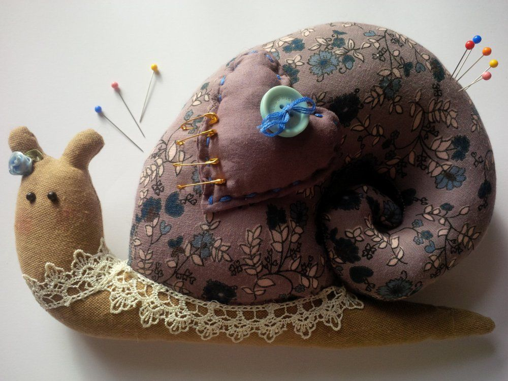Little Snail Pincushion