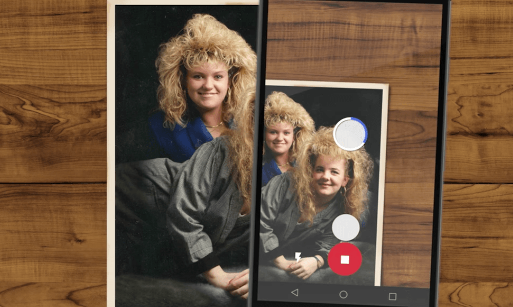 Google PhotoScan aims to help your past meet the future in
