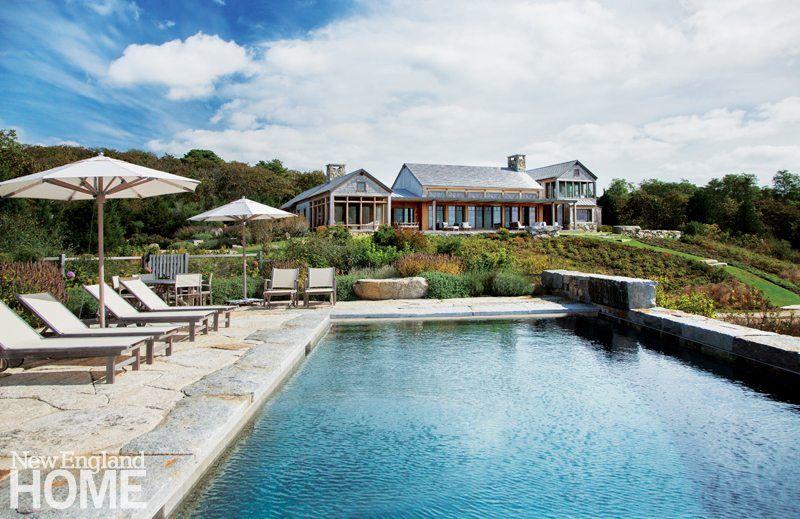 A Contemporary Martha S Vineyard Retreat Designed By Hutker Architects New England Home Magazine New England Homes House And Home Magazine Architect