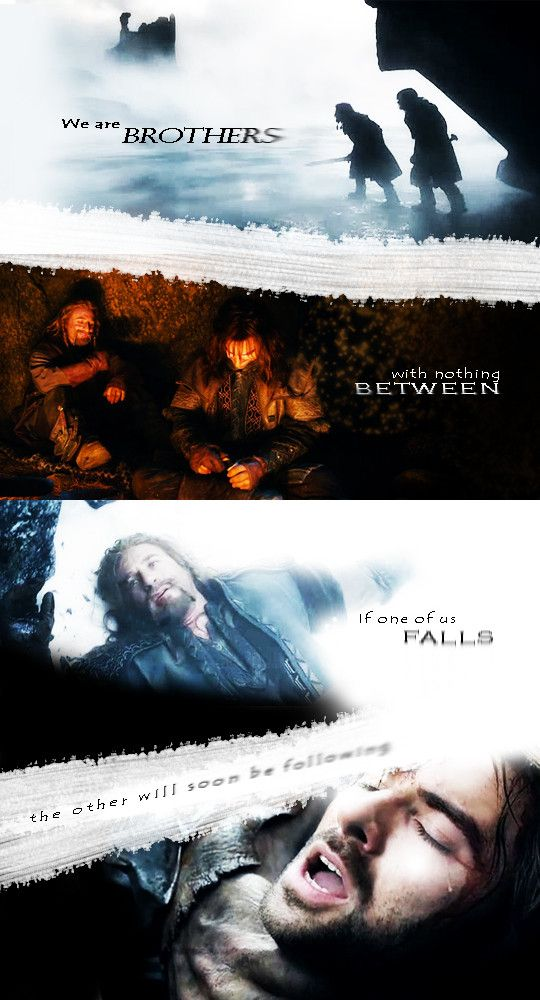 Fili & Kili. Oh great, why can this fandom not give me just ONE DAY without making me cry?