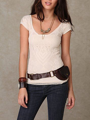 free people belt bag - I am kinda obsessing over this idea right now.