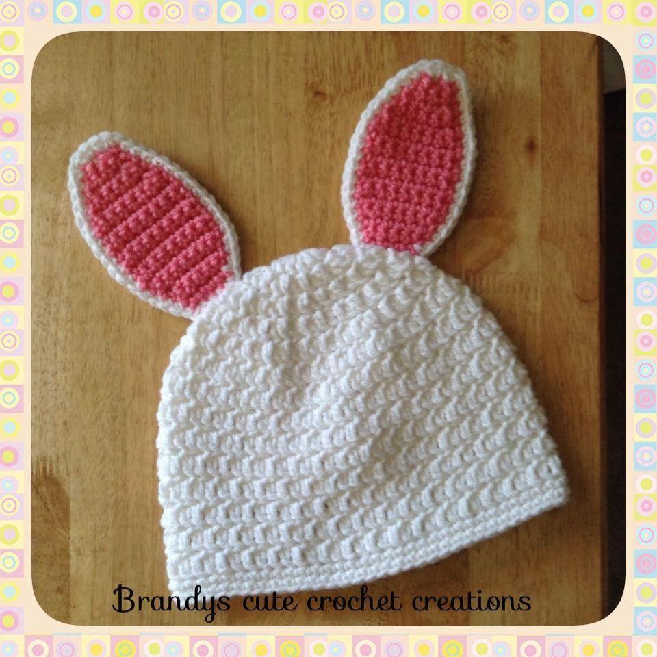 Crochet Bunny Ears Hat