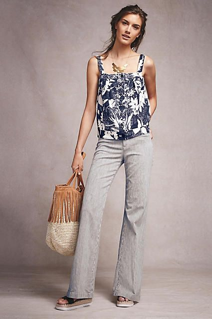 AG Lana Wide-Leg Jeans | i love | Pinterest | Spring, Pants and ...