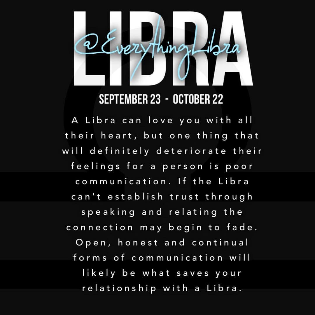 My Mercury is in Libra, so damn straight, you better communicate