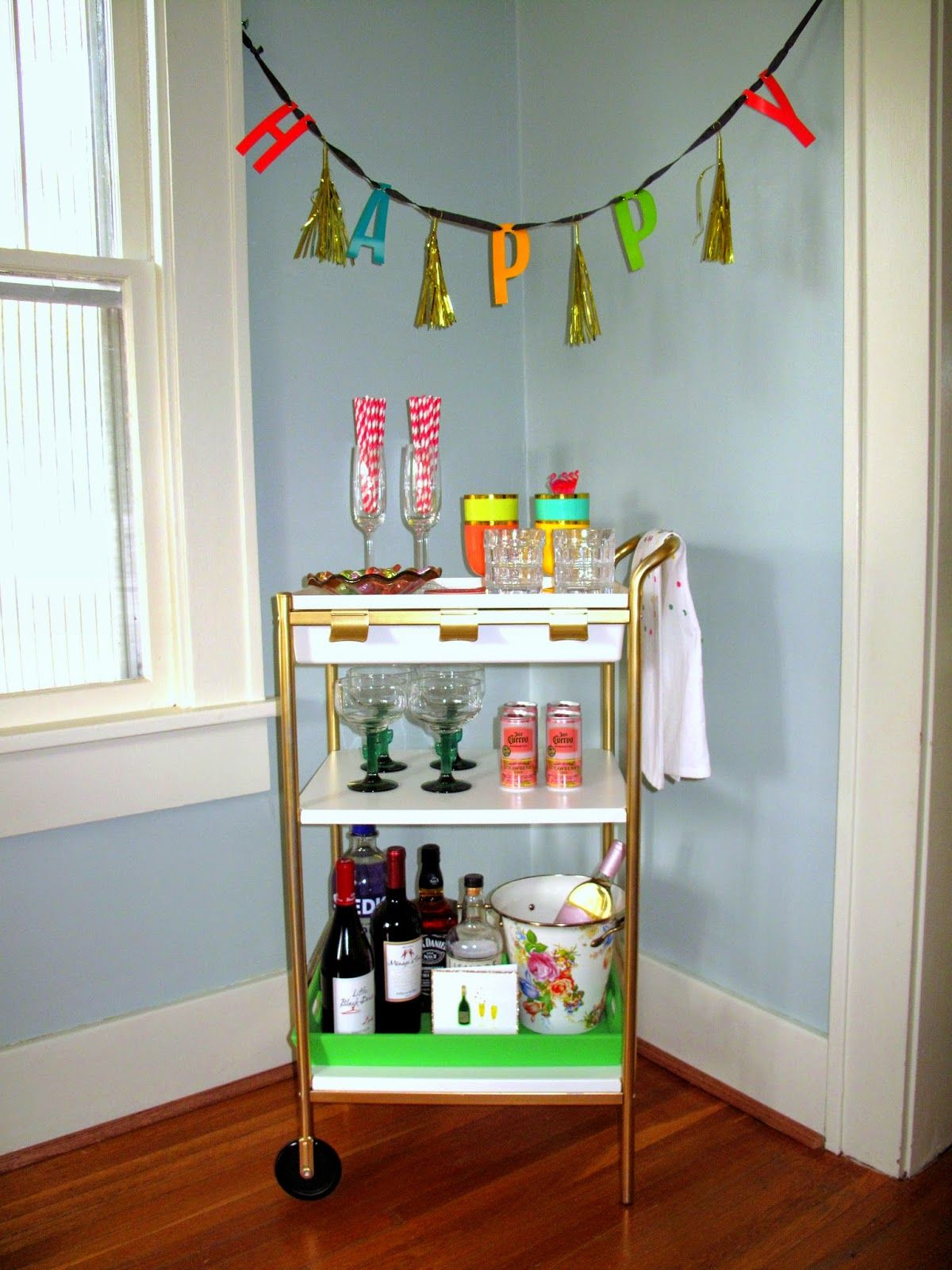 Redo Of The Ikea Utility Cart And A Fun Way To Style It!