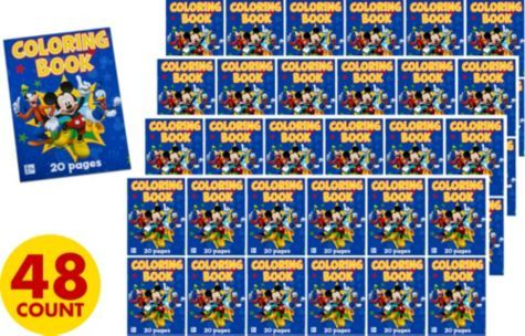Mickey Mouse Coloring Books Party City Mickey Mouse Party Supplies Mickey Mouse Birthday Book Party