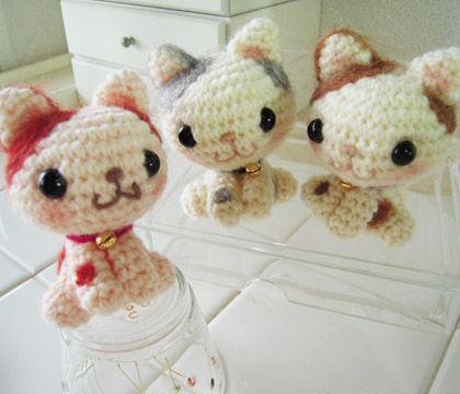 Amigurimi super cute cats