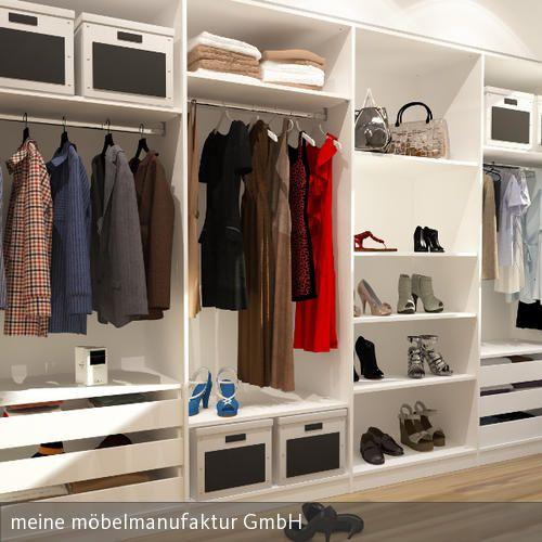 Einbauschrank Nische großzügiger begehbarer kleiderschrank einbauschrank begehbar und