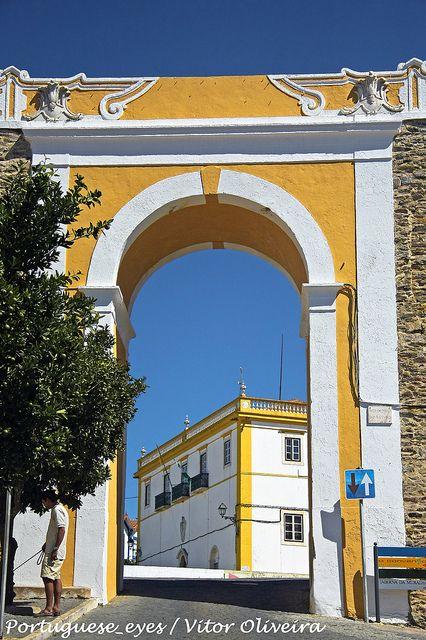 Porta do Arco - Avis - Portugal by Portuguese_eyes, via Flickr