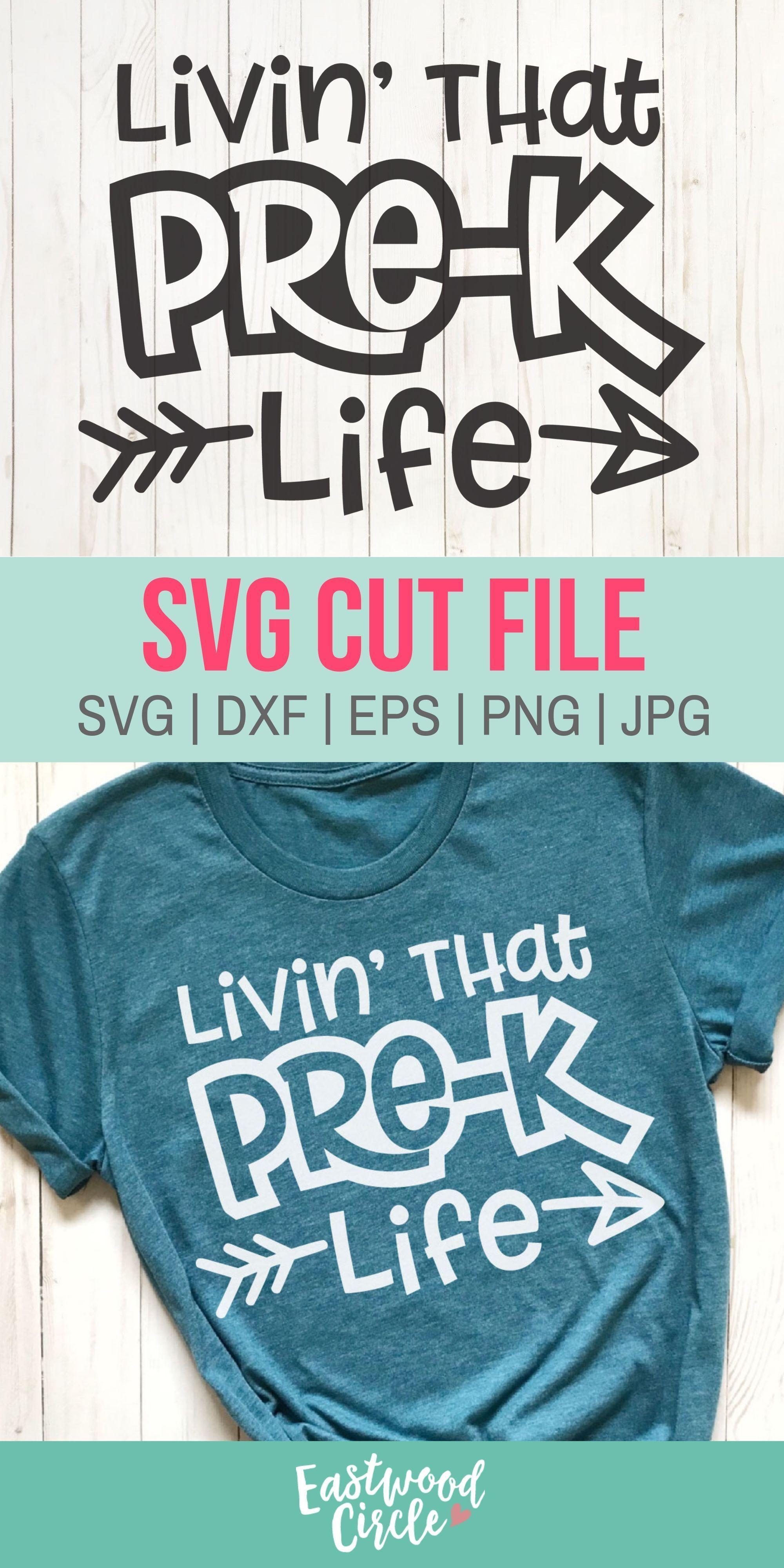 Livin That Pre K Life svg, Livin That Prek Life svg, Pre K