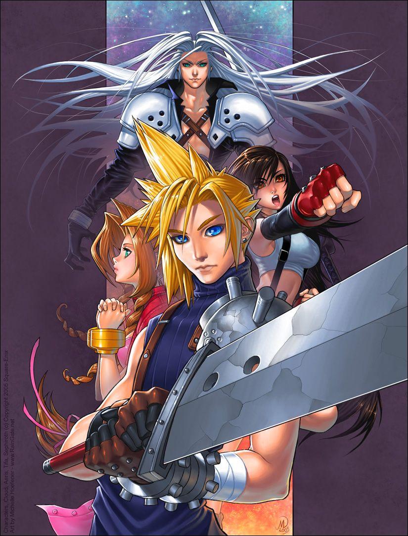 Final Fantasy VII Fanart By Michelle84 On Deviantart