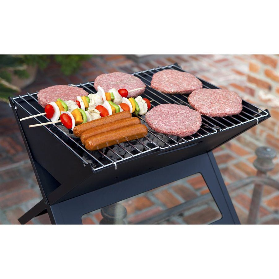 Shop Fire Sense Notebook 11 82 In Charcoal Grill At Lowes Com