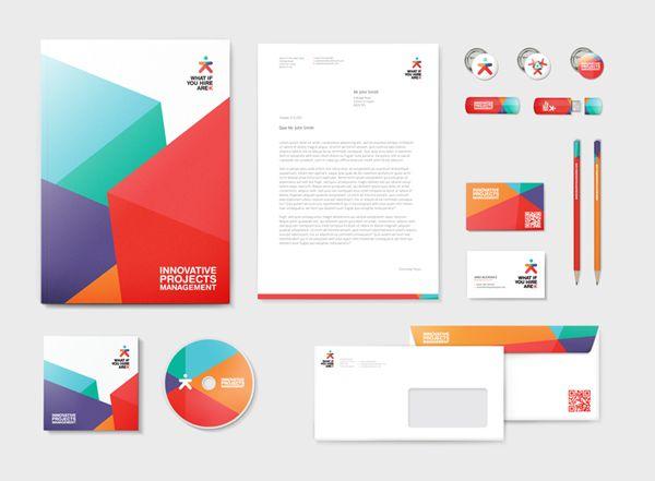 What If You Hire Arek Brand Identity Web On Behance Design De Identidade Corporativa Design De Identidade De Marca Design De Identidade