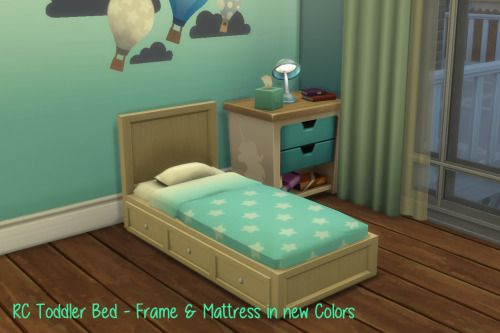 Chillis Sims Rc Toddler Bed Sims 4 Downloads Sims 4