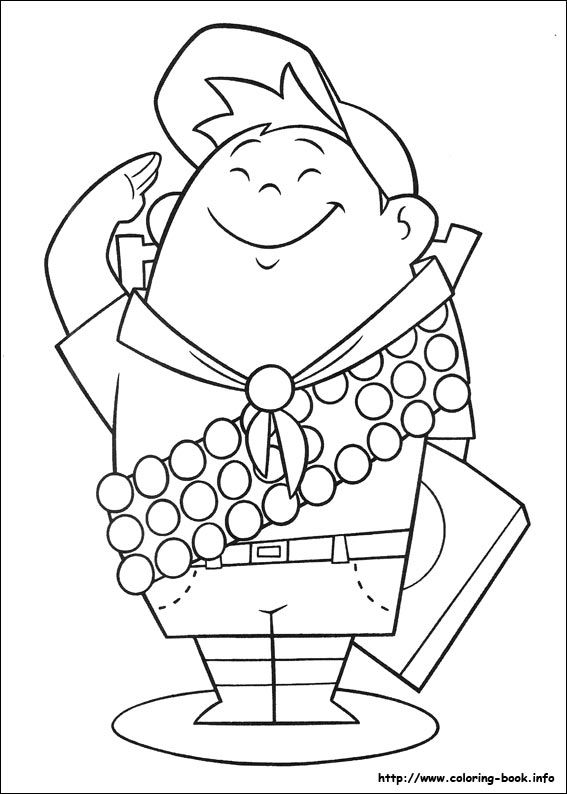 Up coloring picture | Coloriage | Pinterest | Craft, Svg file and ...