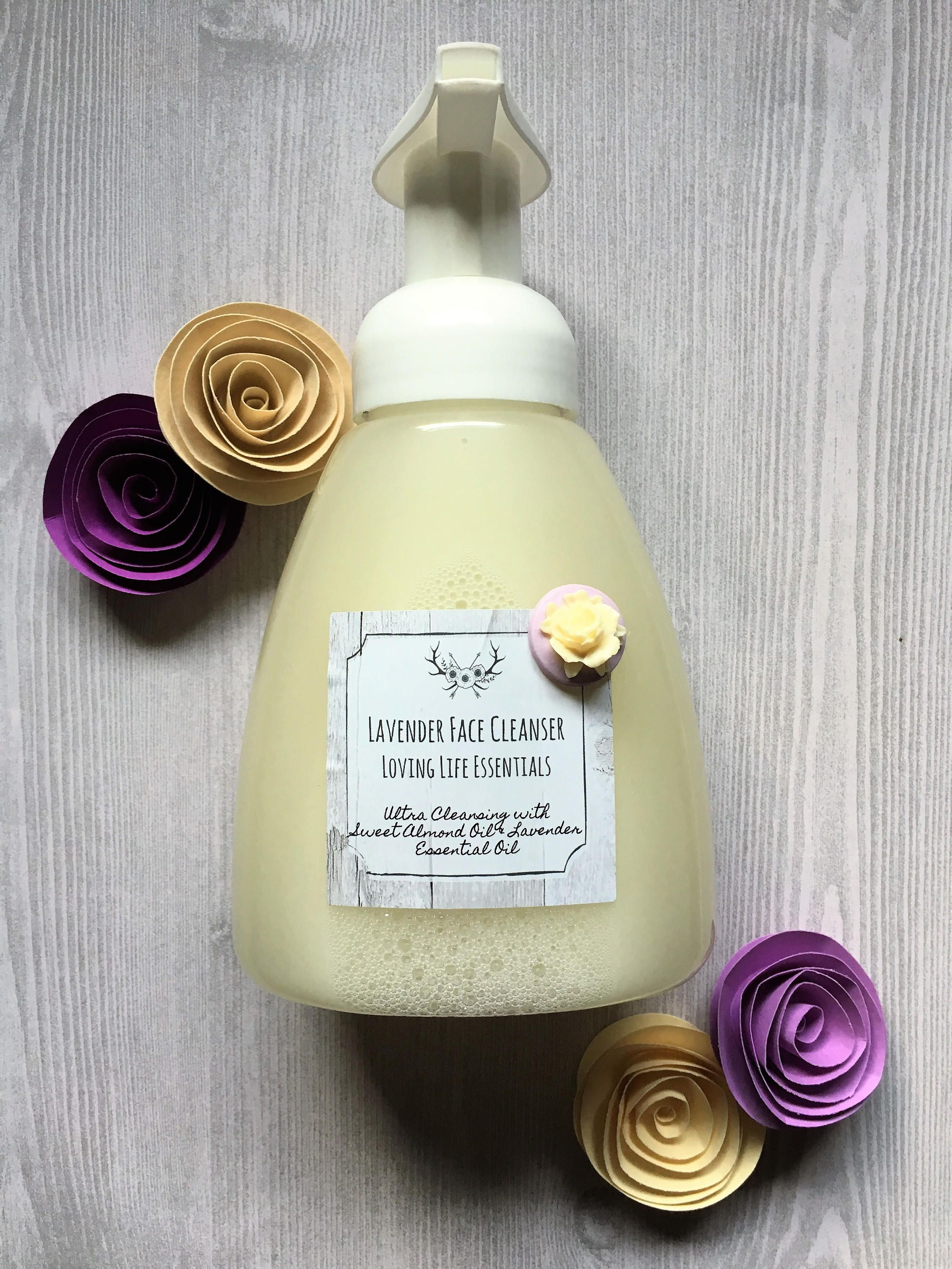 Foaming face cleanser for normal to dry skin 100 etsy