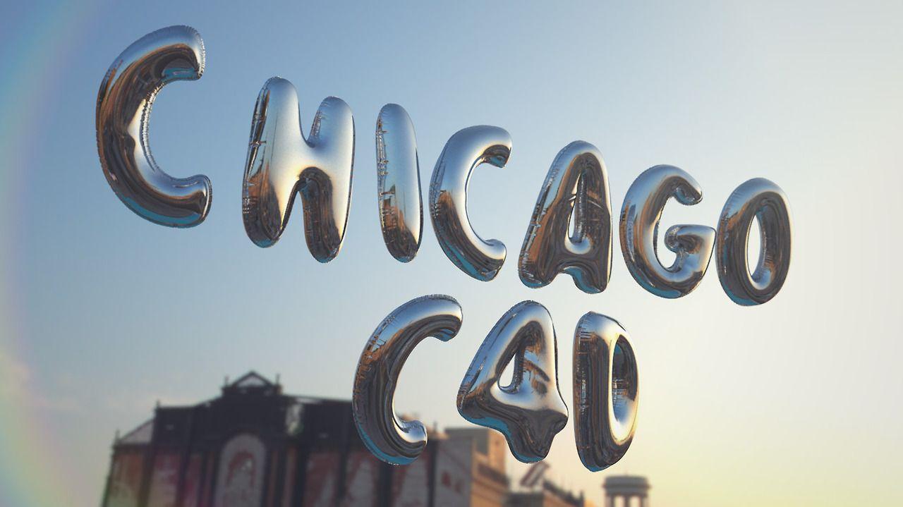 Balloon render for the Chicago C4D Meet-Up. #transform #supertext #C4D