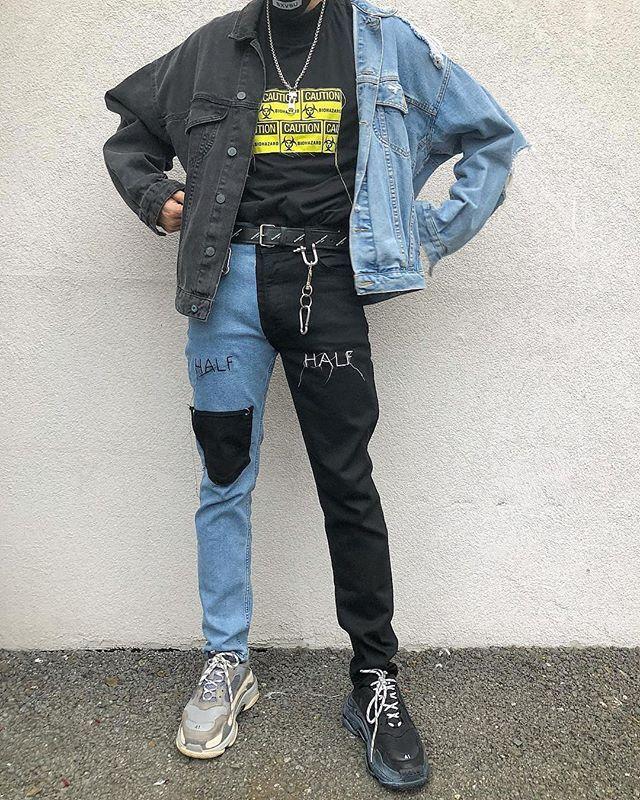 Nike veste japonaise | Streetwear homme, Street wear urbain