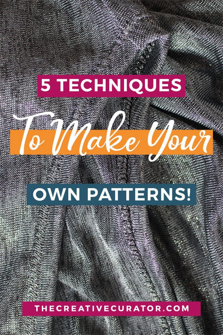 5 Techniques To Make Your Own Sewing Patterns Pattern Drafting