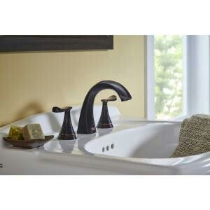 American Standard Chatfield At Home Depot Bathroom Faucets Widespread Bathroom Faucet Bathroom Sink Faucets