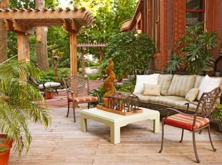 35 Beautiful Backyards Pinterest Patio trasero, Patios y Jardinería