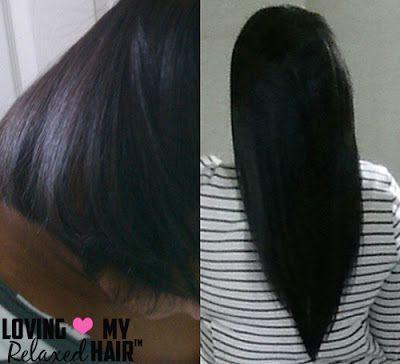 #hairlista  #lovingmyrelaxedhair  #relaxedhair  #healthyhair  #healthyhairjourney  #hairjourney  #cremeofnature #Relaxed #Hair™  Loving My Relaxed Hair™ Presents: Antoinette on HairliciousInc.com