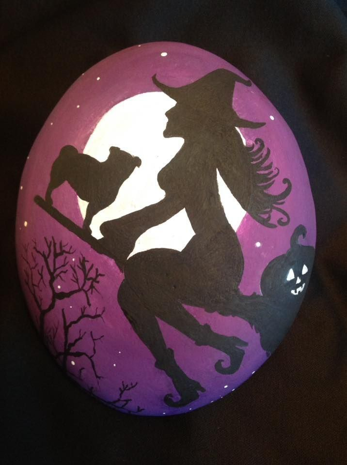 34 Halloween Rock Painting Ideas For Fall You'll L