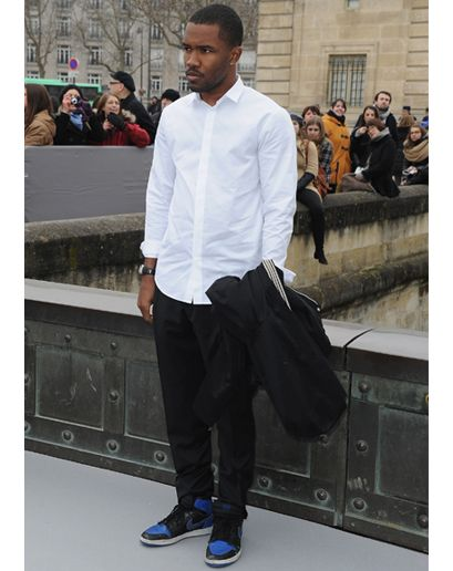 One of our Most Stylish Men of 2013, Frank Ocean is no stranger to pairing clean looks with his own, street-informed sense of style. Here, t...