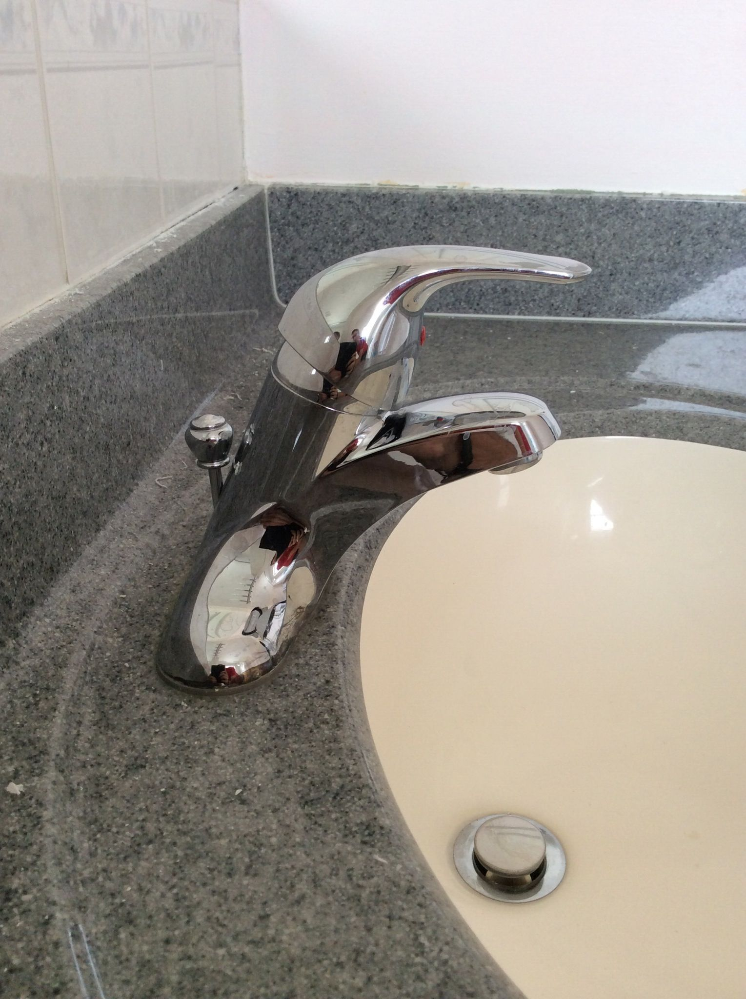 How To Remove A Vanity Faucet Recipe Faucet Braided Line Water Supply