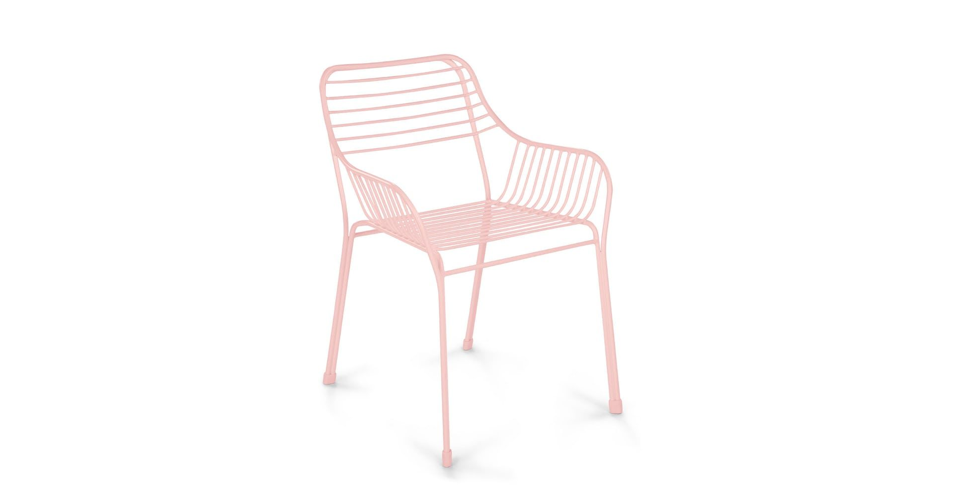 Caya Verbena Pink Dining Armchair Modern Outdoor Dining Chairs