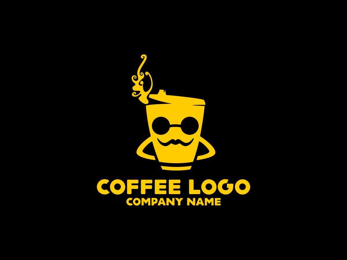 Coffee logo template 74579 dengan gambar