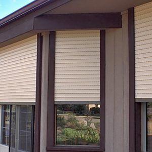 Security Metal Exterior Blinds Metal Window Blinds Interior