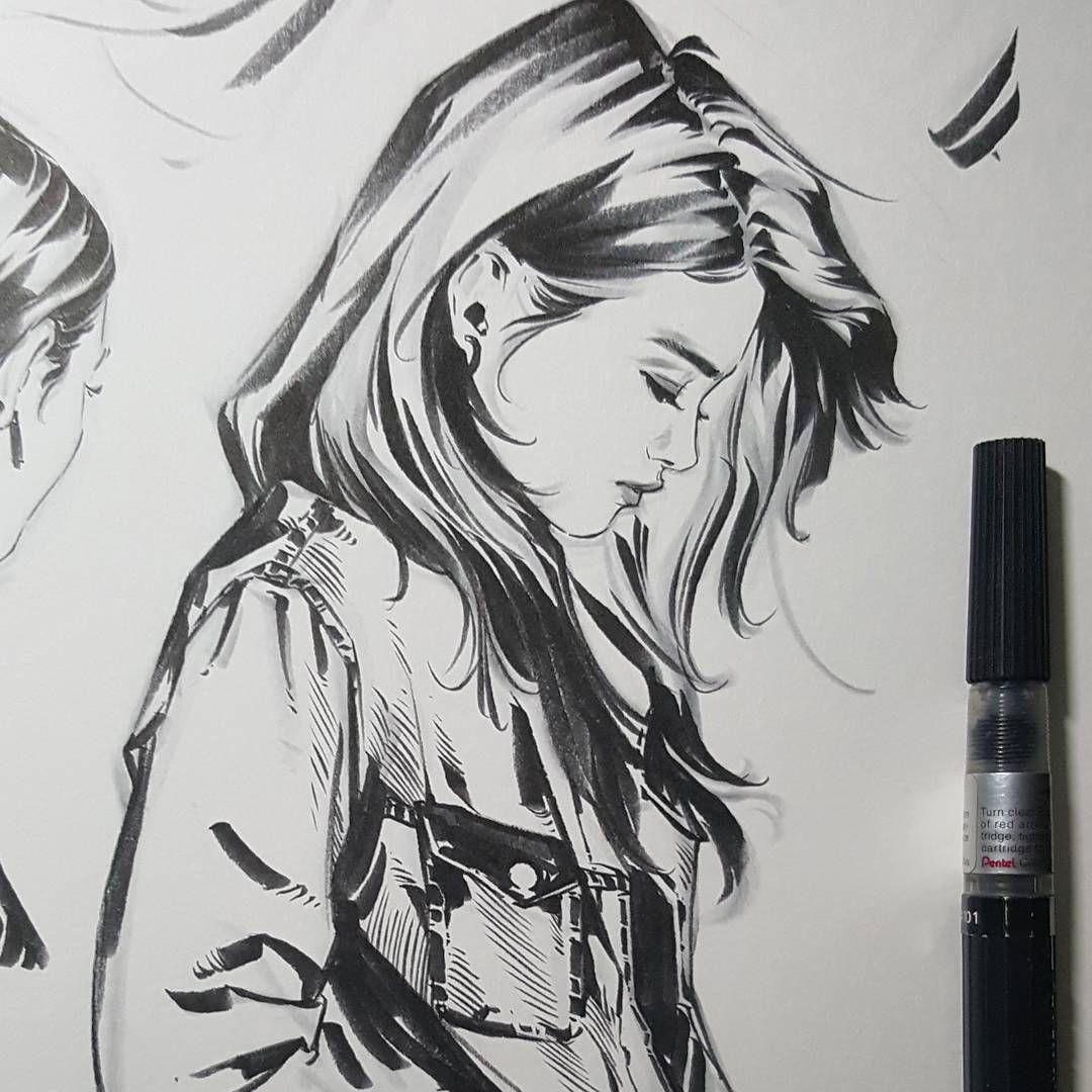 The best girl sketch ideas novah2