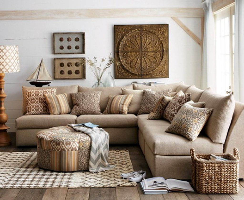40 Small Living Room Decorating Ideas On a Budget | Brown ...
