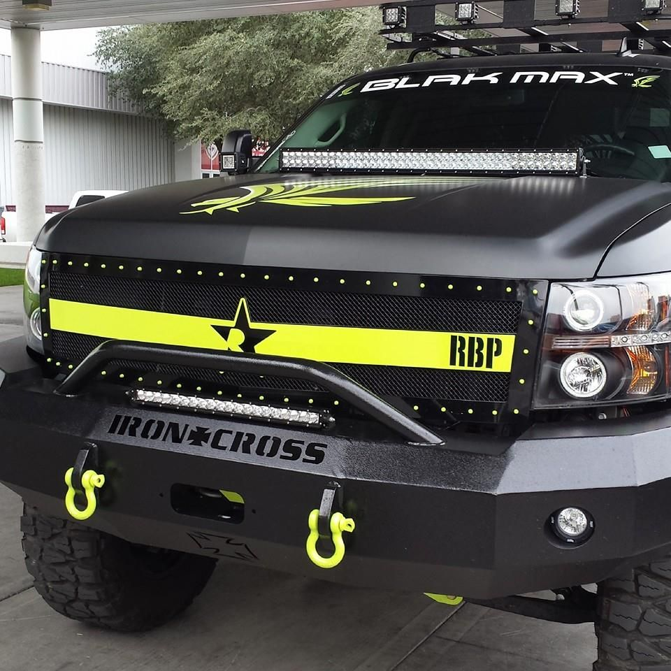 Iron Cross Bumpers Truck Bumpers Bumpers Chevy Trucks