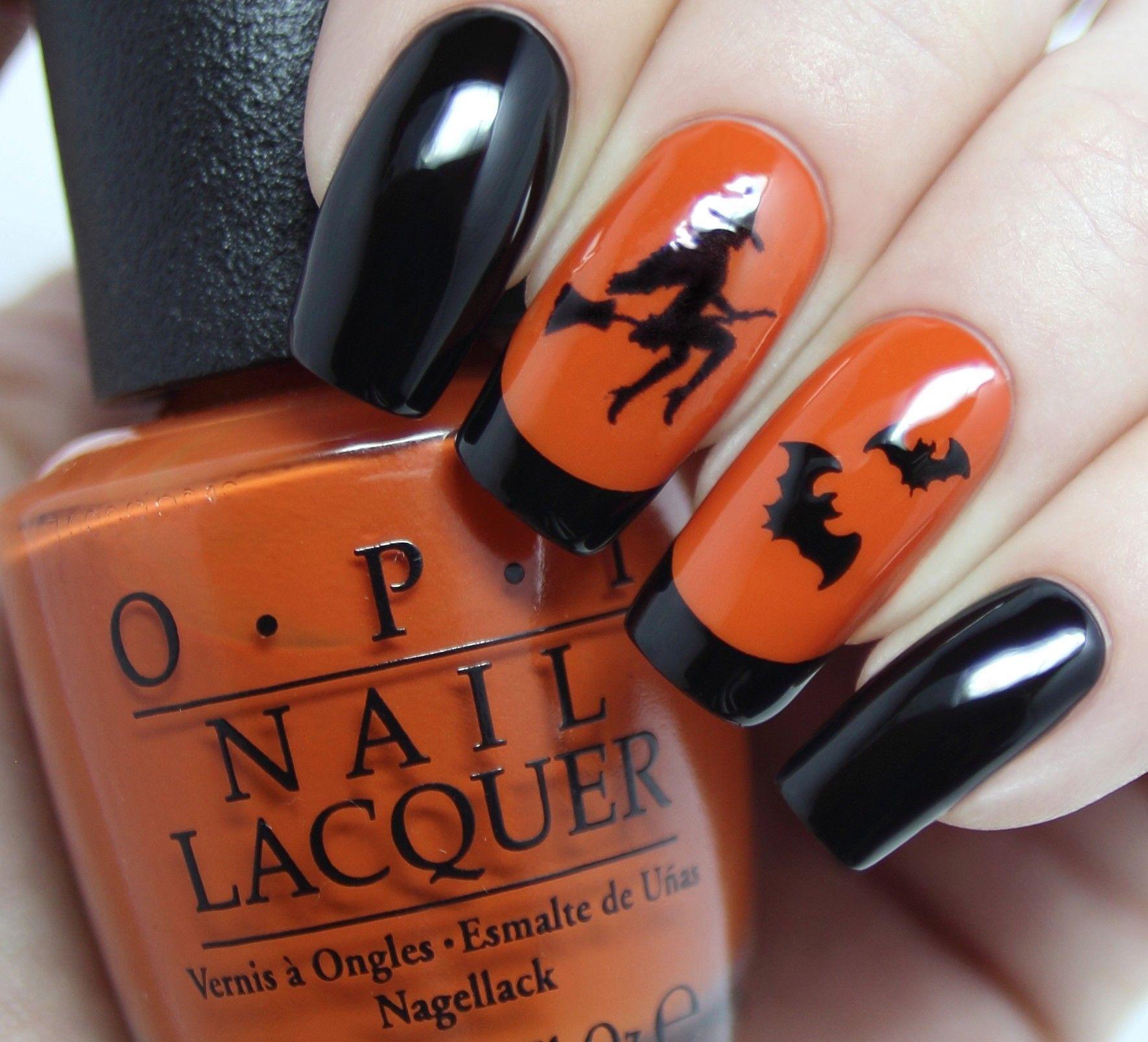 Spooky Halloween Nail Art Designs Easy Halloween Nail Art ...