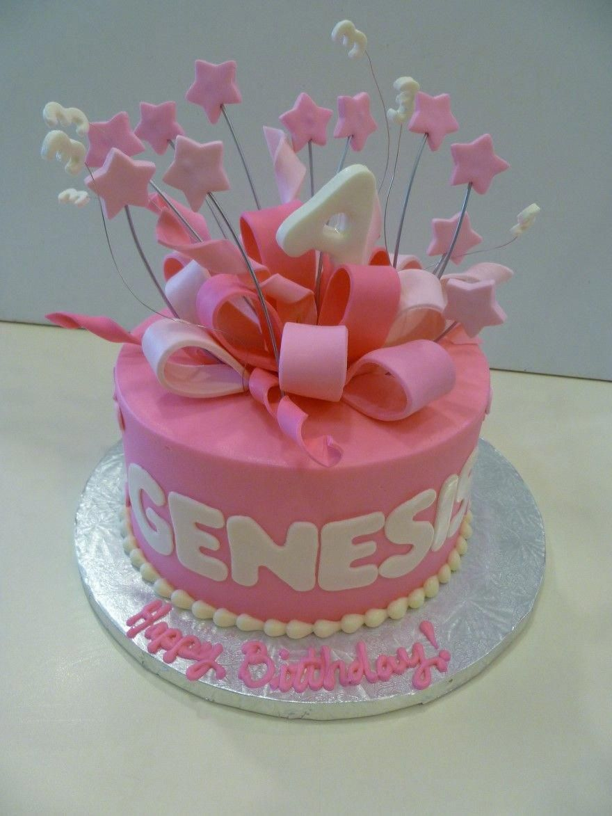 little girl birthday cakes Google Search