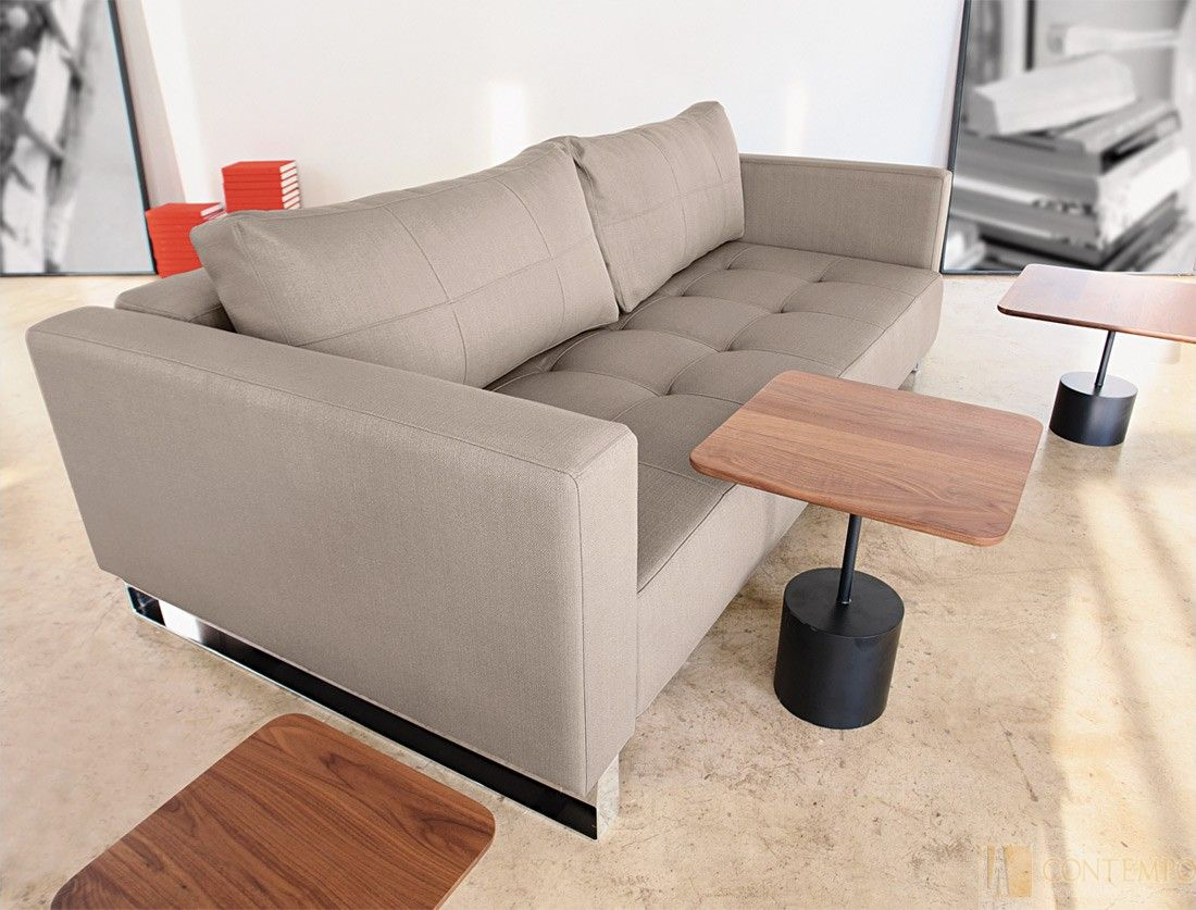 Cassius Deluxe Excess Lounger Sofa Bed Classic Medium Grey By Innovation Furniture Sofa Modern Convertible Sofa