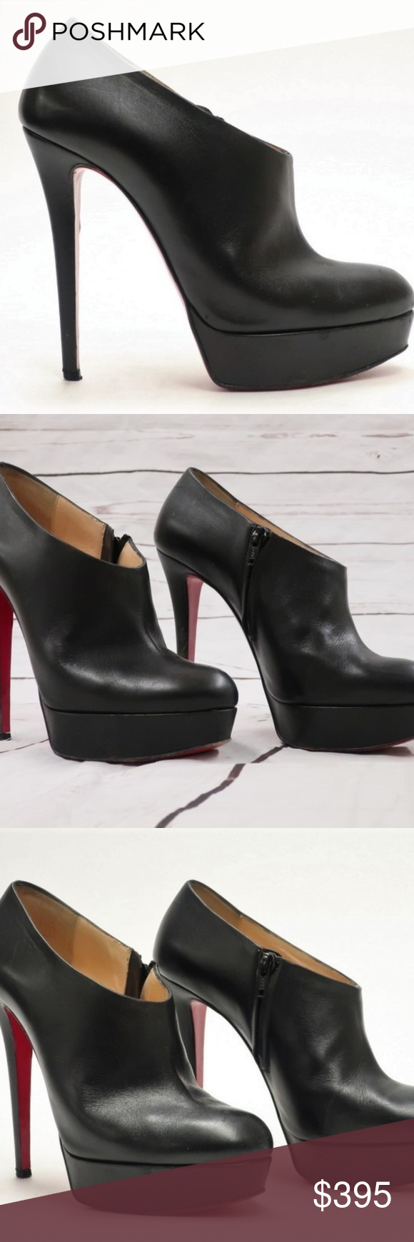 5bba7730351 Christian Louboutin Moulage 140 Ankle Boot ITEM: Christian Louboutin ...