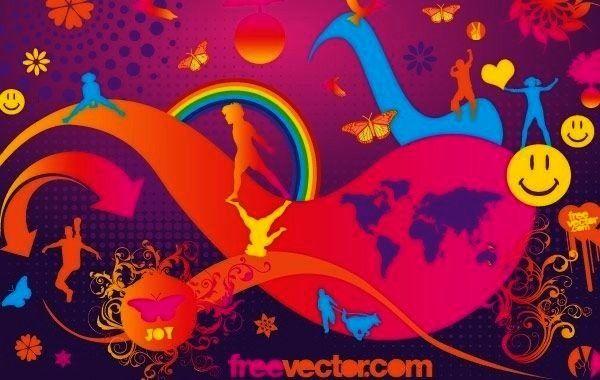 Joy Vector, Vector by Freevector License Attribution ID 320551...Joy Vector, Vector by Freevector