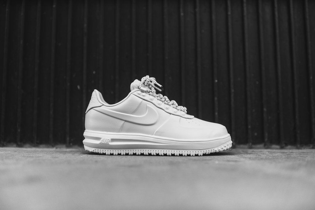 Nike Lunar Force 1 Duckboot Low - Triple White  020f0dbfacbe